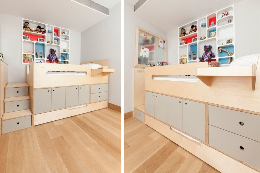 Clever Raised Storage Bed Stashes All Your Stuff Away