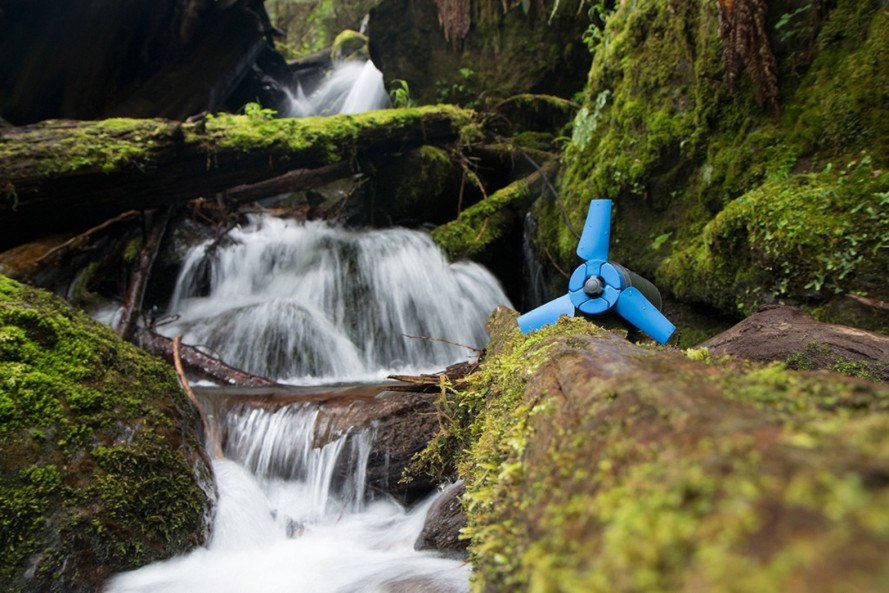 estream, enomad, hydro power, portable hydro power, powered by running water, portable generator, hydro generator