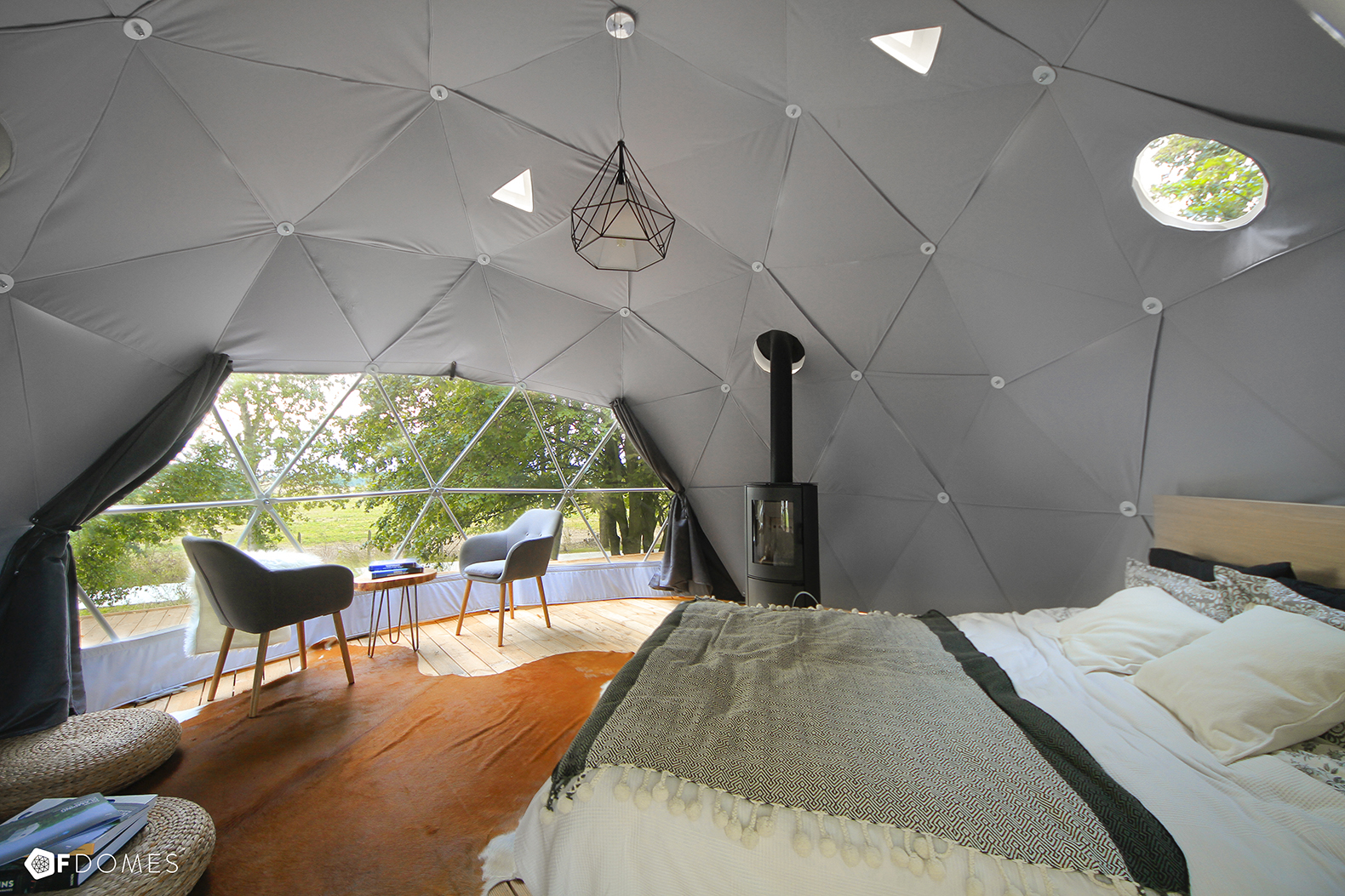 Create your own backyard geodesic dome with these super ...
