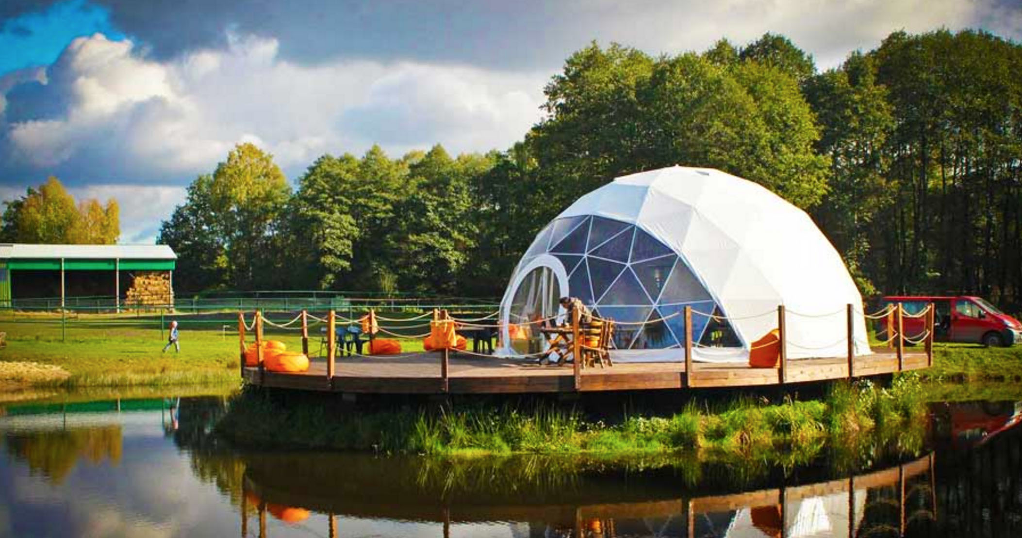 Create your own backyard geodesic dome with these super affordable DIY kits