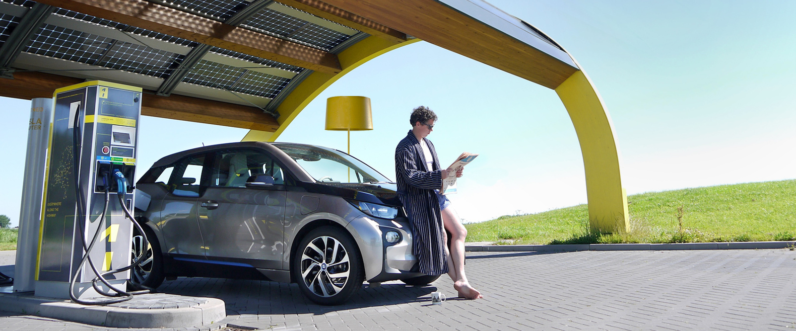 Fleet Of Solar Ed Charging Stations Prepares The Netherlands For Impending Ev Revolution
