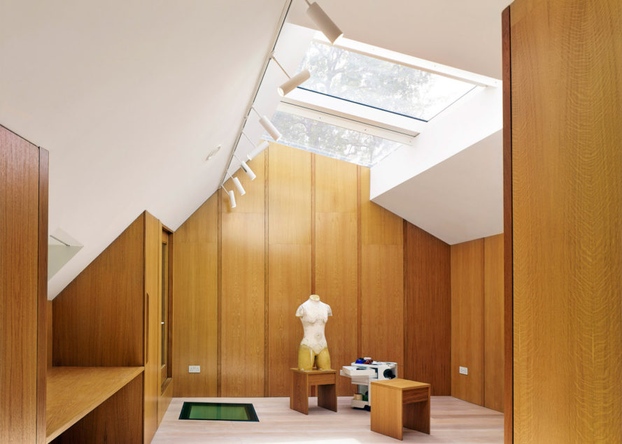 Garden House by Hayhurst and Co, Garden House RIBA House of the Year, Garden House Whitaker Malem, ziggurat-shaped roof garden