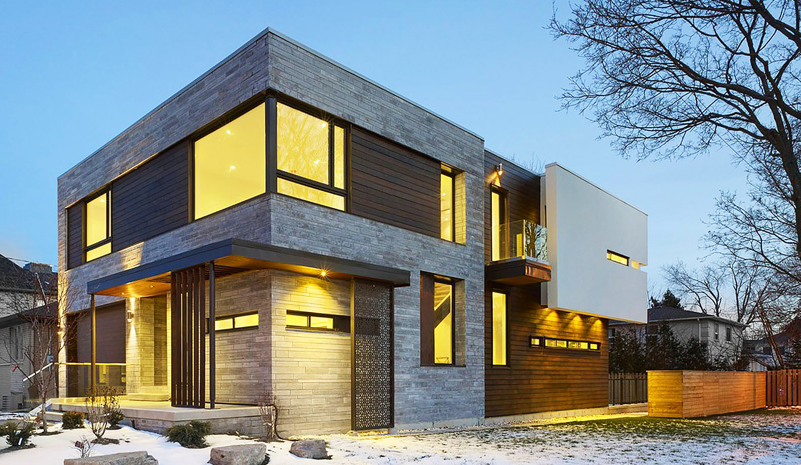 Naturally Cooled Toronto Home Boasts A Beautiful Multi Level Indoor Garden