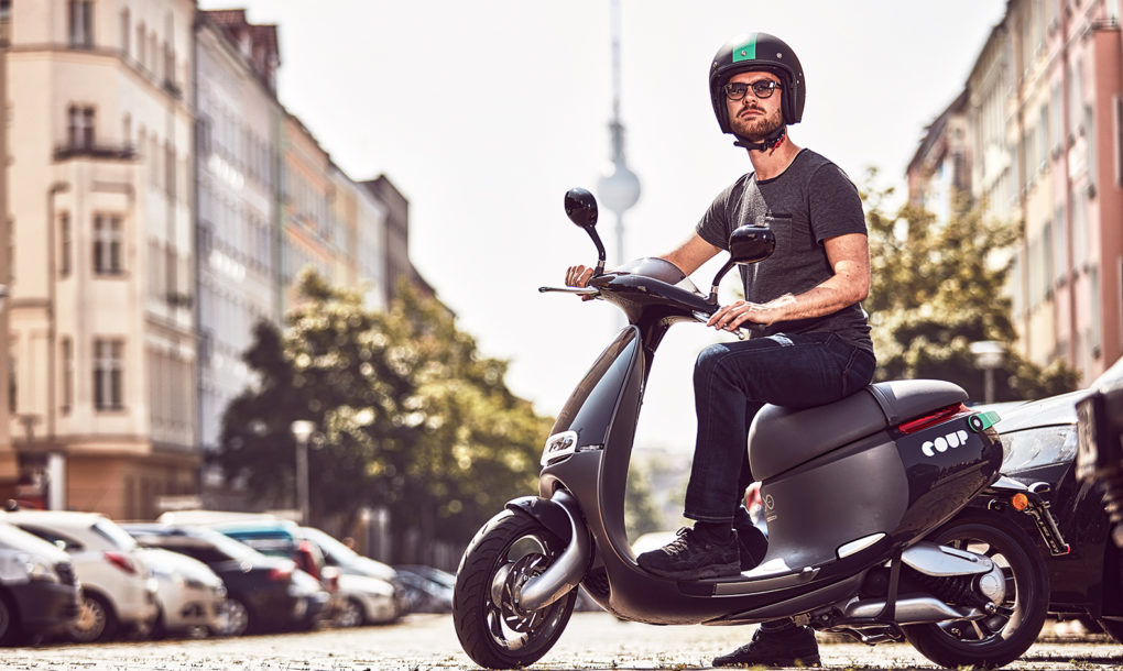 gogoro launches electric scooter sharing in berlin teams up with bosch 39 s coup inhabitat. Black Bedroom Furniture Sets. Home Design Ideas