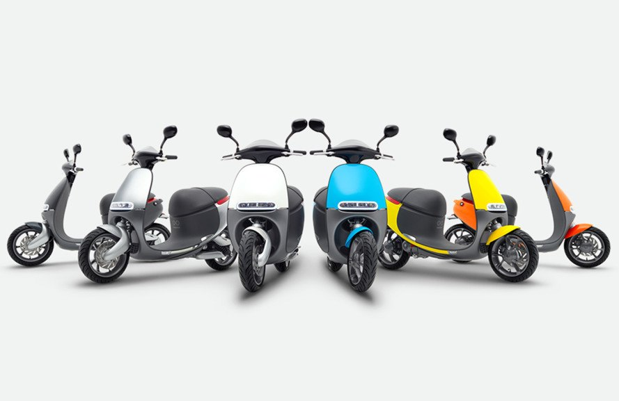 Gogoro, Coup, Smartscooter, Gogoro Energy Network, ride sharing, scooter, transportation, sustainable transportation, green transportation, green design, sustainable design, Berlin, Gogoro Berlin, electric scooter, electric vehicle sharing, urban transportation, Bosch