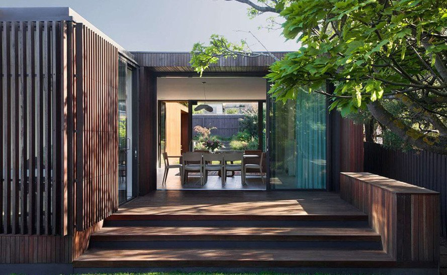 Humble House, Coy Yiontis Architects, Australia, timber cladding, natural ventilation, natural light, green architecture