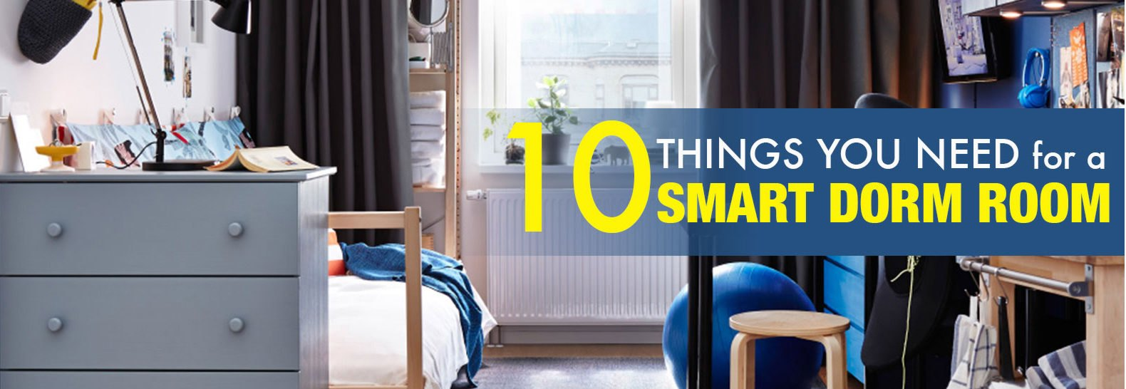 10 Smart And Cheap Things Every College Dorm Room Needs