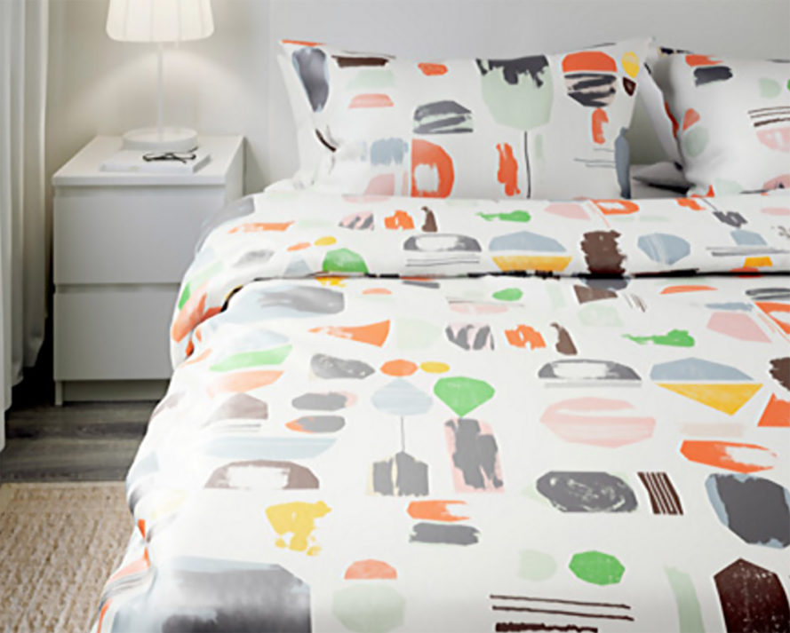 IKEA back to school, back to school furniture, back to school dorm, back to school ideas, dorm ideas, IKEA dorm furniture, IKEA dorm, IKEA DOFTKLINT, DOFTKLINT comforter