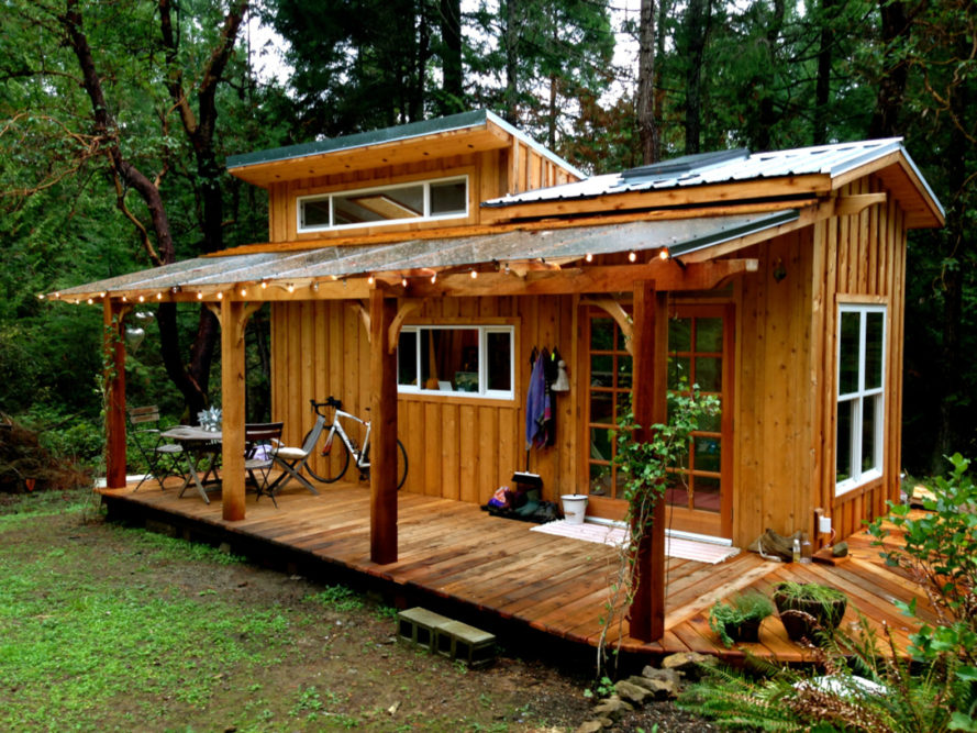 tiny house, keva tiny house, rebecca grim tiny house, tiny home british columbia, canadian tiny house, salt spring island tiny house, wooden tiny house