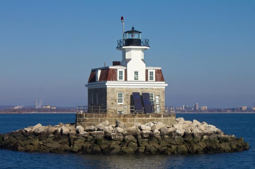 lighthouse, Penfield Reef Lighthouse, historic lighthouse