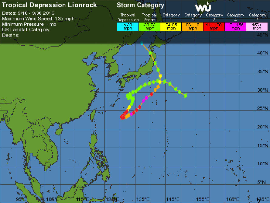 japan, china, lionrock, typhoon lionrock, flooding, flood, natural disasters, pacific ocean hurricane season