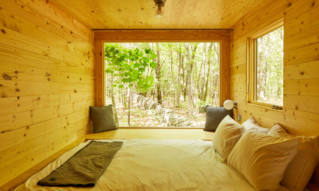 Habitat Cabin Beds : Inhabitat spends the night in a harvard designed getaway