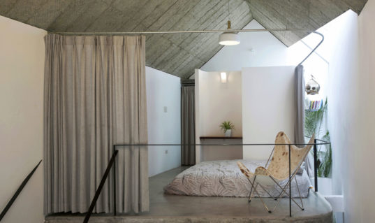 Maison t is a discreet alley pad in hanoi with a secret for Maison pad