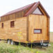 Tiny House Baluchon, Odyssée house, house on wheels, tiny house, mobile home, timber, space-efficient design, operable windows, green architecture, space-saving furniture, composting toilet