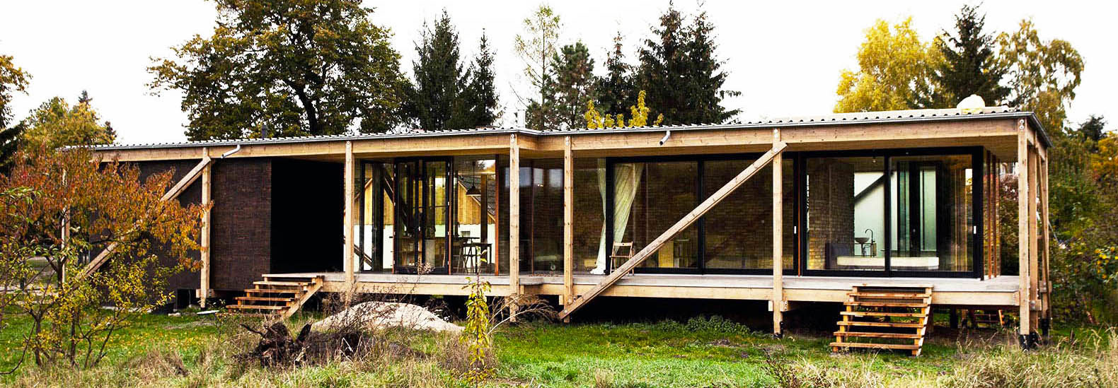 Low Cost, Low Impact Neiling II House Was Built Out Of Reclaimed Wood