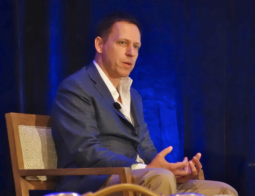 Peter Thiel, technology, entrepreneuer, parabiosis, blood, young people's blood, transfusions, death, mortality, immortality, research, science