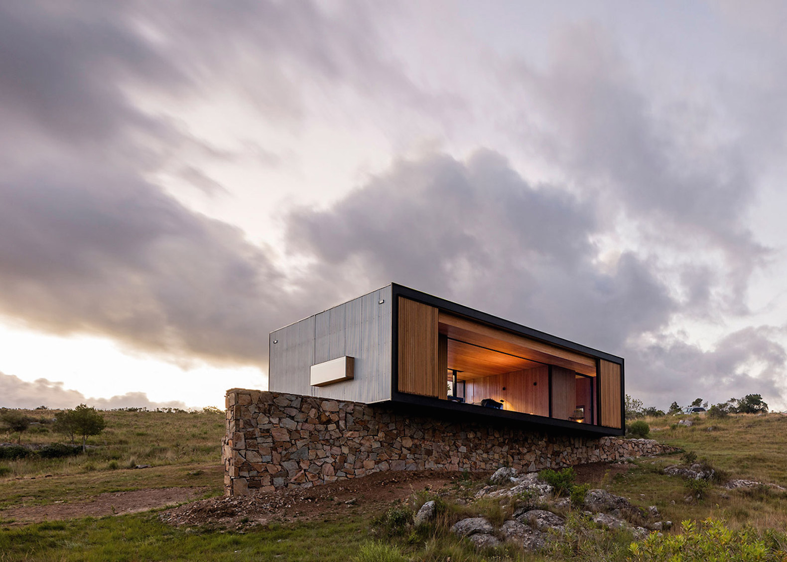 MAPA's prefab house can be installed and disassembled with minimal environmental harm