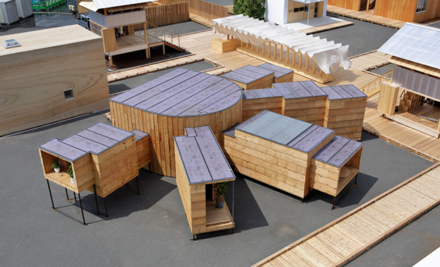 House Vision 2 exhibition, House Vision Expo, Japanese architects, innovative housing, future of housing, Shigeru Ban, Sou Fujimoto, Atelier Bow Wow, Kengo Kuma, Jun Igarashi, Taiji Fujimori, built-in furniture, virtual reality, temporary housing