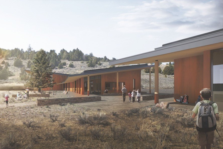 Toyota, Yellowstone Youth Campus, Yellowstone, national park, Yellowstone National Park, Living Building Challenge, sustainable building, green building