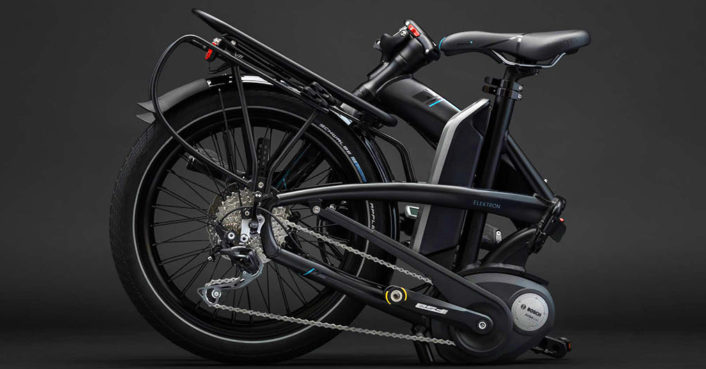 The Elektron is the world's most compact folding electric bike