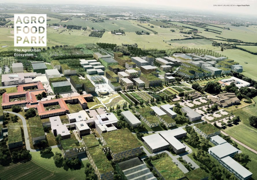 William McDonough + Partners, GXN, 3XN Architects, BCVA, Urland, AFP, Agro Food Park, Aarhus, Denmark, Silicon Valley of Agriculture, AFP, The Danish Agriculture & Food Council, Agro urban ecosystem design, food and agriculture hub Denmakr,