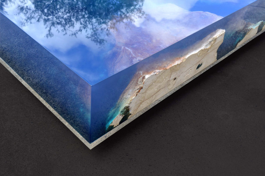 Mesmerizing Resin Table Illuminates A Quot Starry Sea Quot With