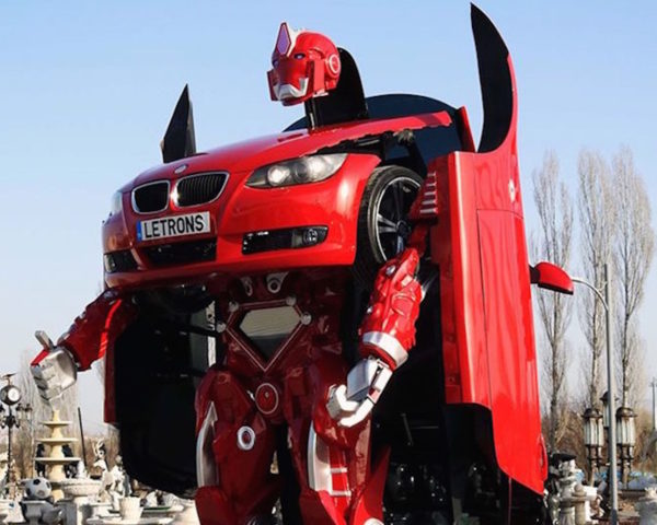 BMW, Transformers, Letrons, BMW Transformer, Antimon transformer, Antimon BMW Transformer by Letrons