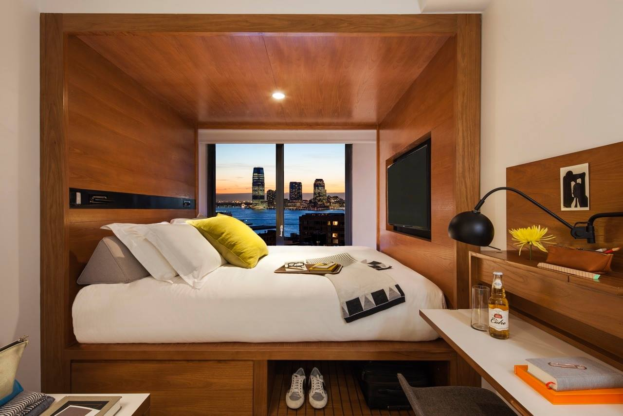 The arlo hotel bring a new micro hotel to nyc inhabitat for Design hotel ladys first