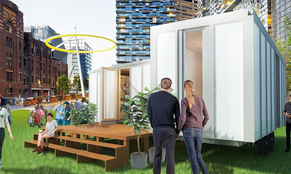 Tiny Home Designs: Big World Homes: Flat-packed Off-grid Homes Offer