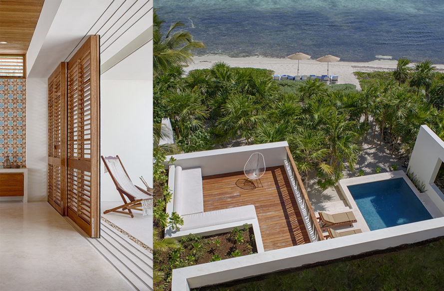Casa Xixim by Specht Architects, net-neutral Casa Xixim, self sustaining hotel, Tulum resorts, Soliman Bay eco resort, eco-friendly resorts in Mexico, self-sustaining resorts, hotel with wetlands, wetland treating wastewater
