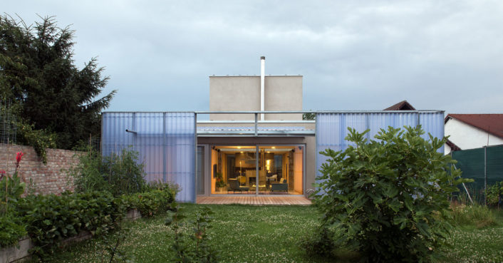 A house within a house in Slovakia unfolds in layers