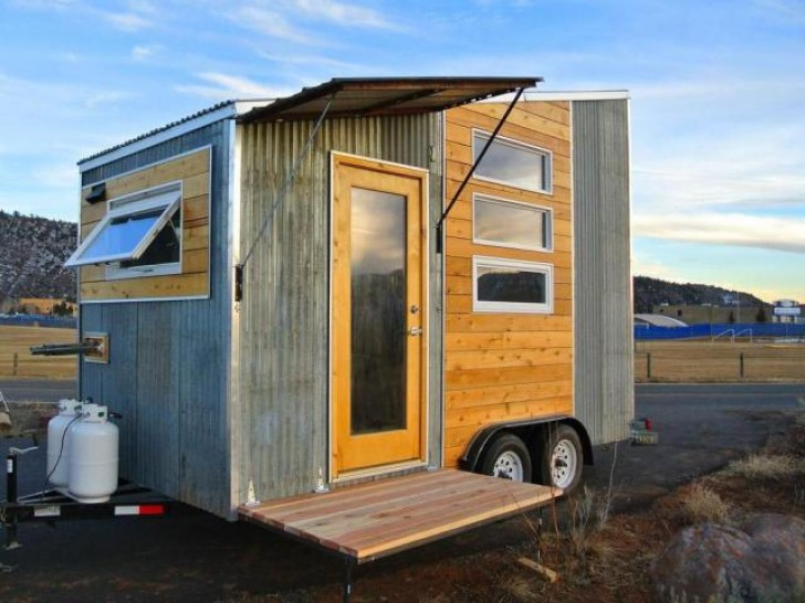 Tiny House On Wheels the durango tiny house on wheels is a minimalist traveler's dream