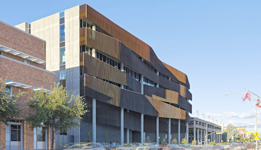 Richärd+Bauer Architecture, LEED certification, educational building, University of Arizona, LEED building, ENR2, green architecture, sustainable building, interactive learning spaces, irrigation, rainwater harvesting, water management