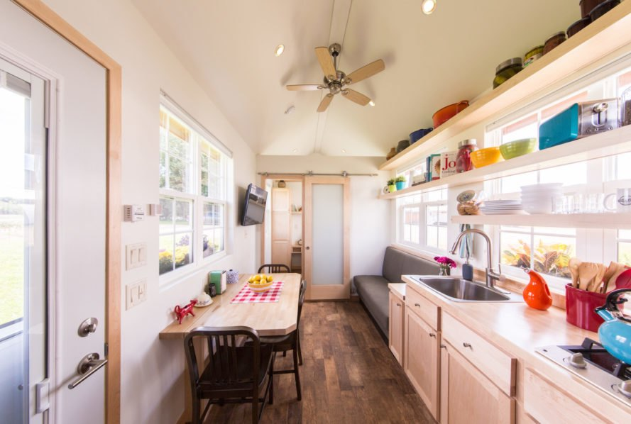 ESCAPE Vintage by ESCAPE Homes, upscale tiny home, luxurious tiny house, cottage on wheels, cottage like RV, ESCAPE Vintage price, energy efficient tiny house