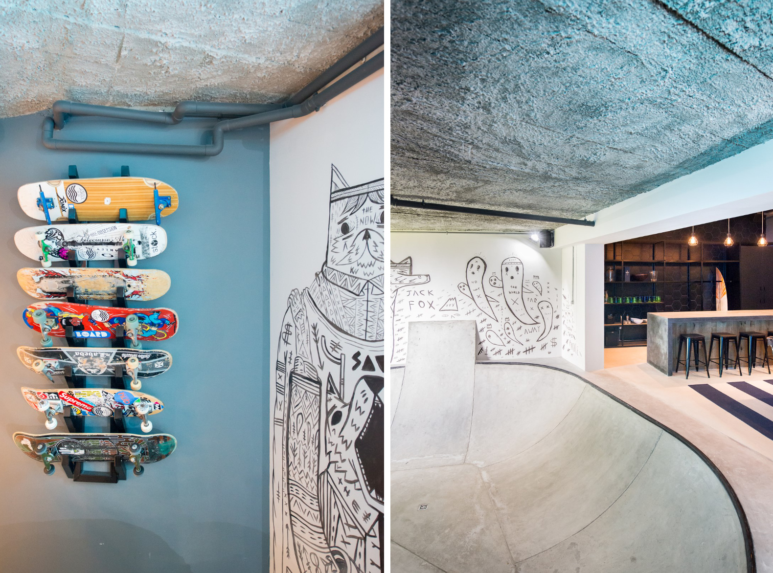 "Man Cave Urban Meaning : This teen s ""man cave is every skateboarders dream hang"