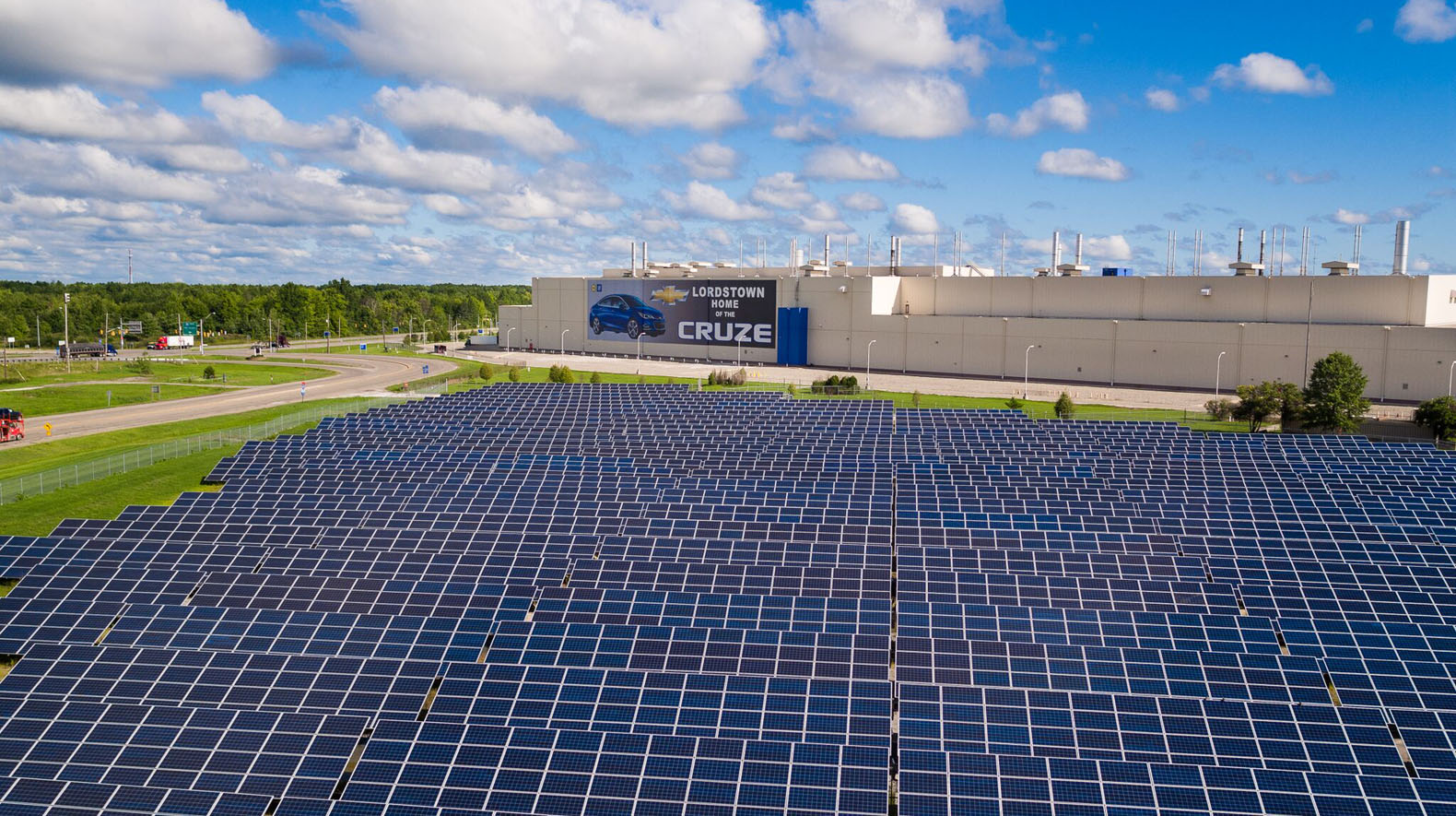 General Motors announces plans to switch to 100% renewable energy