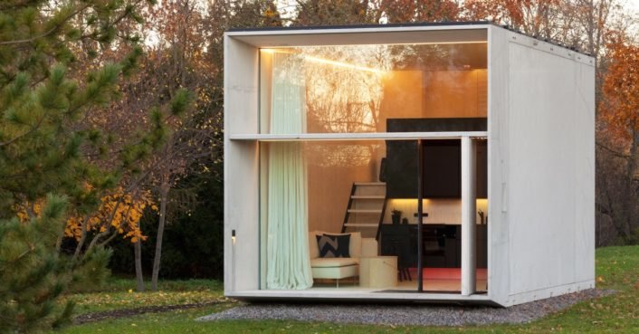KODA is a tiny solar-powered house that can move with its owners