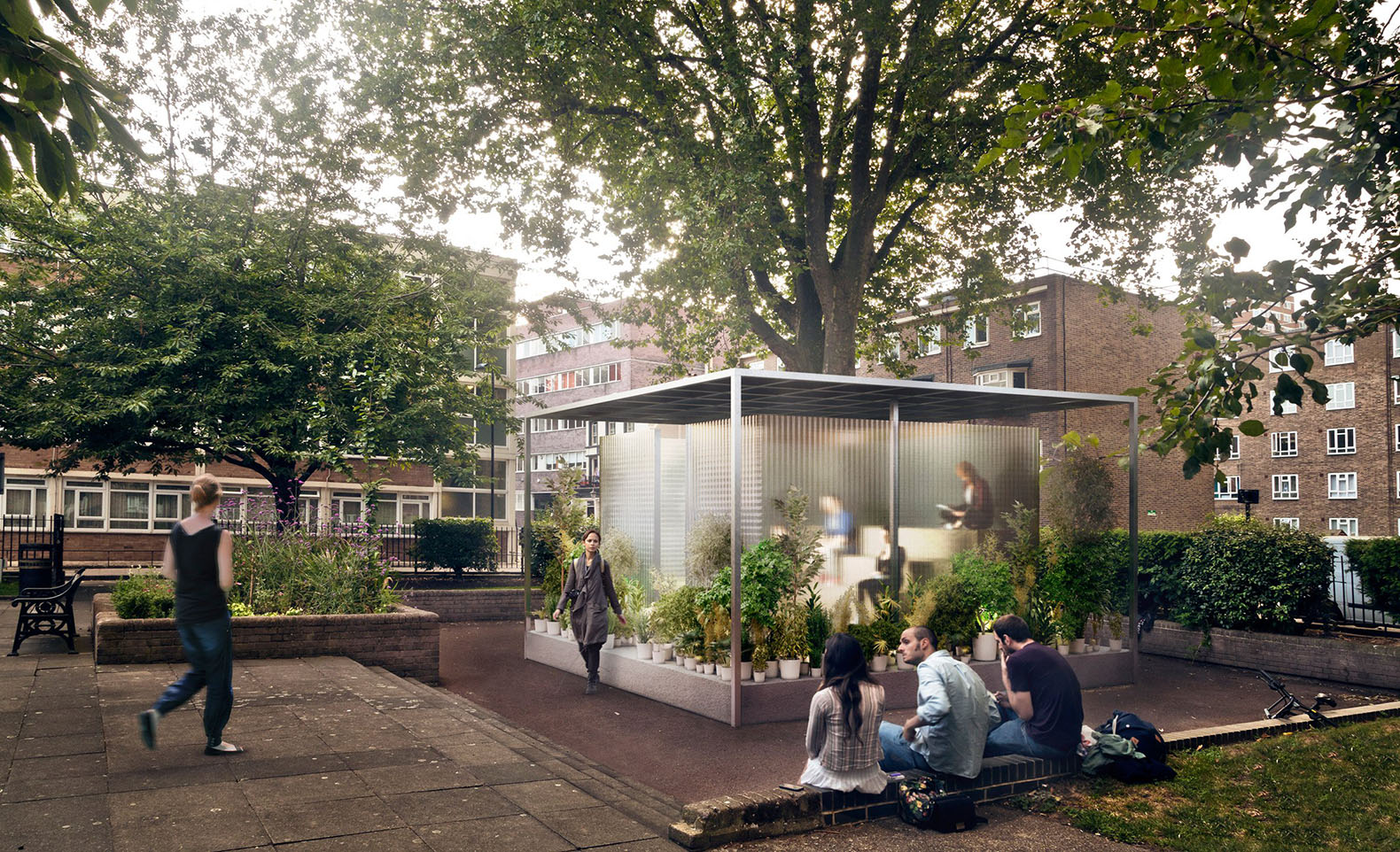 Asif Khan And Mini Unveil 3 Plant Filled Microshelters For