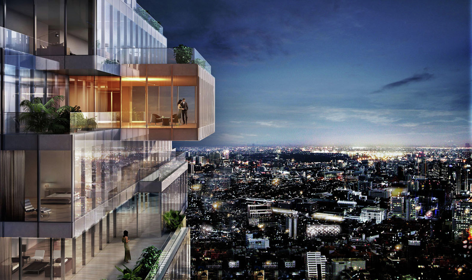 MahaNakhon Tower Thailands Tallest Building Opens In