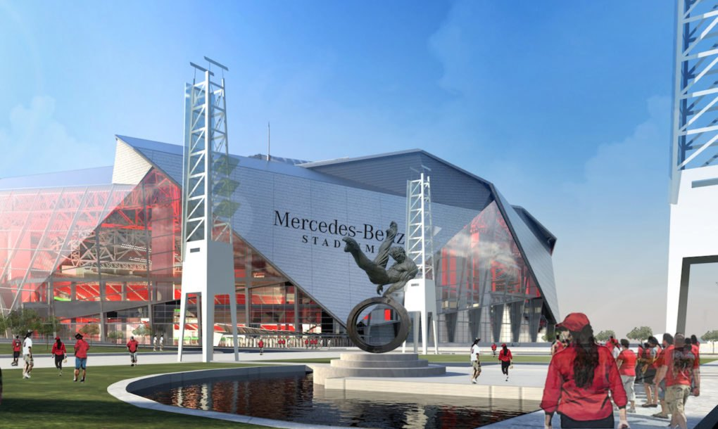 Atlanta S Mercedes Benz Stadium To Be Nfl S First Ever