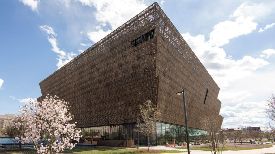 african american museum, architect's newspaper, Darren Bradley, museum design, National Museum of African American History and Culture, NMAAHC, Yoruban art