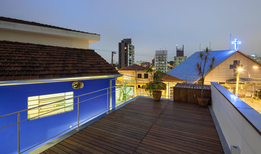 CCF house, GOAA architects, green renovation, Sao Paulo, wooden house, Brazil, rainwater harvesting, rooftop terrace, green architecture
