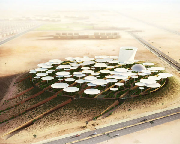 Science City International in Egypt, Weston Williamson+Partners, Bibliotheca Alexandrina competition, cultural center in the desert, 6th of October City in Egypt