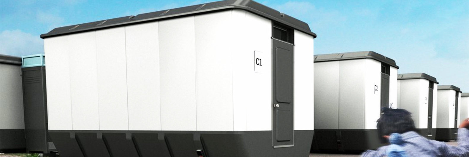 Shelter Pack emergency homes compress to 31-inch-tall slabs for easy ...
