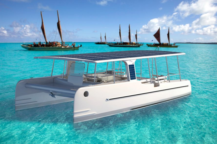 soel yachts, soelcat 12, solar-powered motor boat, catamaran, boat, eco-tourism, sightseeing, flat-pack boat