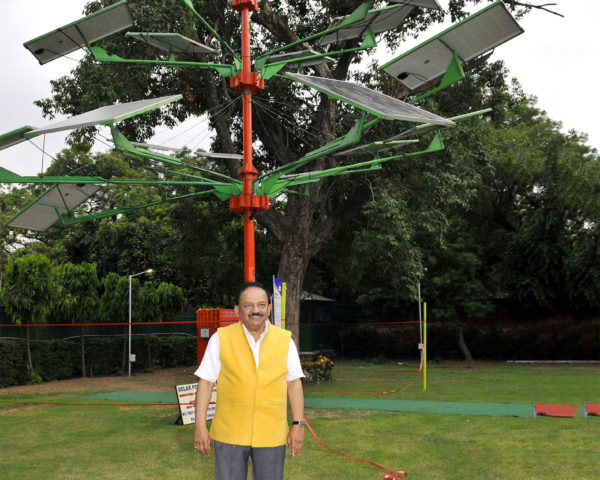 Indias new solar power tree can light 5 homes in just 4 sq ft of indias new solar power tree can light 5 homes in just 4 sq ft of land inhabitat green design innovation architecture green building sciox Image collections