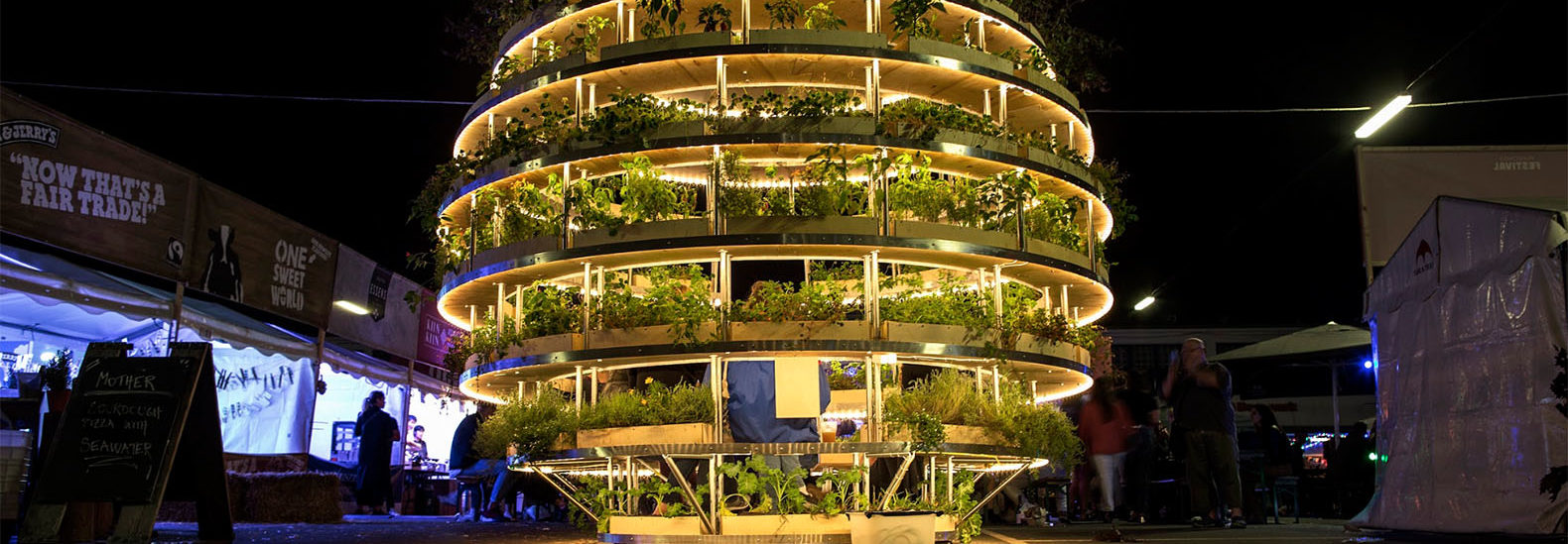 The Growroom is a spherical farm pod that brings agriculture to city ...