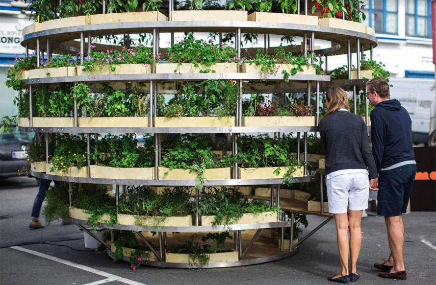 Space 10, Mads-Ulrik Husum, Sine Lindholm, Growroom, Space10 Growroom, urban gardening, urban farms, city farming, city gardening, Space10 urban farming, Space10 urban gardens, urban food growing