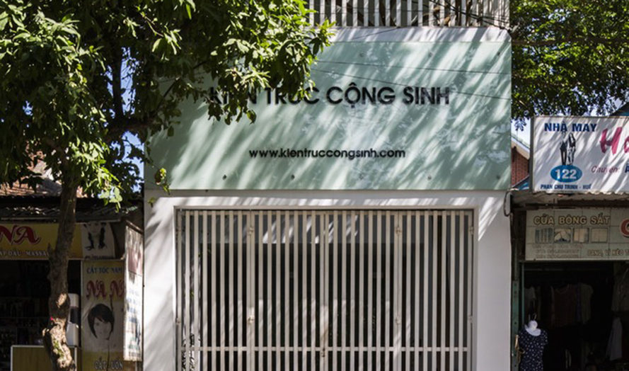 Symbiosis office building, Cong Sinh Architects, green office space, Vietnam, green renovation, green architecture, urbanization, green spaces, trellis design, natural light