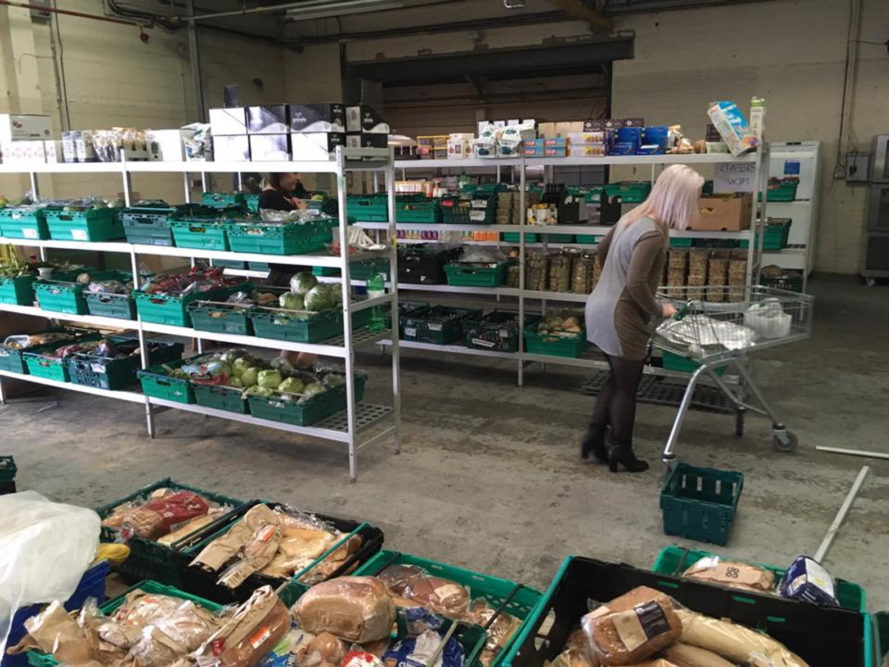 food waste, salvage grocery, food waste supermarket, food waste grocery, united kingdom, the real junk food project